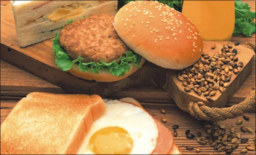 飲食設計, 免費模板