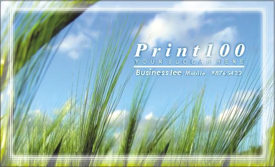 自然設計, 免費模板