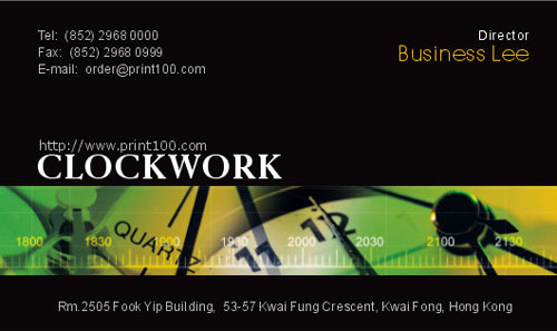 Business設計, 免費模板