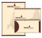 Envelope/Letterhead設計, 免費模板